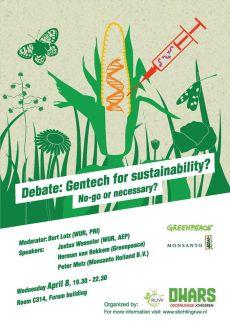 poster GMO debat