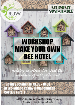 Poster Workshop Workshop Beehotel
