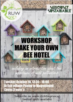 Poster Workshop Workshop Beehotel